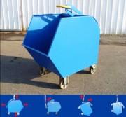 Conteneur à gravats - Capacité : 1.5 tonnes