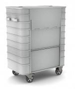 Conteneur aluminium - Volume utile : 710 ou 1070 L