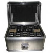 Conteneur aluminium pour batteries - Dimensions extérieures :  400 x 300 x 180 mm