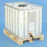 Conteneur avec palette bois - 800 litres