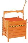 Conteneur basculant à palonnier - Charge admissible : 2000 kg