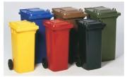 Conteneur collecteur de déchet - Fabrication en plastique.