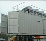 Conteneur compresseur - Unité de production d'air mobile