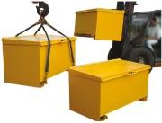 Conteneur de chantier - Capacité : 750 Litres