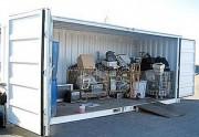 Conteneur de stockage DEEE - Capacité de charge de 800 kg et un gerbage statique 4/1