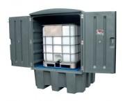 Conteneur de stockage PEHD - Charge admissible : 500 kg