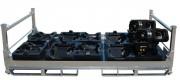 Conteneur de stockage pièces automobiles - Destinée au secteur montage automobile