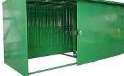 Conteneur de stockage sans seuil - Surface de stockage au sol : 8,6m² - 13m²