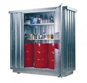 Conteneur de stockage sécurisé - Volume de rétention : de 300 à 1000 L