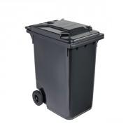 Conteneur déchets 2 roues 360 L - Capacité : 360 litres - Dimensions (LxPxH) : 601 x 880 x 1098 mm - Matière : Polyéthylène