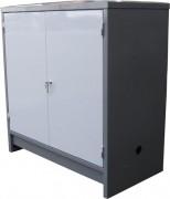 Conteneur DMS avec rétention - Capacité de rétention 400 litres