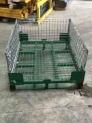 Conteneur en fil 1T - Capacité de charge : 1000 kg