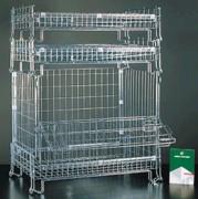 Conteneur en fil grillagé 1000 Kg - Capacité de charge : 1000 kg