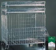 Conteneur en fil léger - Capacité de charge : 400 kg