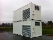 Conteneur énergie - Alimentation en eau, électricité et air comprimée