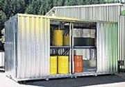 Conteneur extérieur de stockage - Charge admissible du plancher : 500 kg/m²