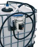 Conteneur IBC avec pompe - Capacité (L) : 1000.