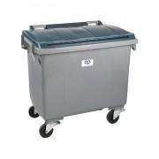 Conteneur mobile à déchets PEHD - Modèle : 2 roues, 4 roues