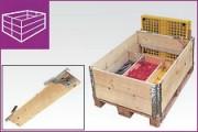 Conteneur pliable et modulable - Rehausse bois
