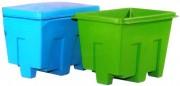 Conteneur polyéthylène - Capacité de 405 Litres - Charge de 5000 kg