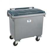 Conteneur roulant à déchets - Capacité : entre 60 et 1700 litres