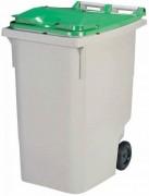 Conteneur roulant déchets 340 L - 2  roues - Dimensions L x Px H mm : 620 x 850 x1095