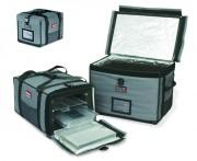 Conteneur rubbermaid isotherme - Capacité : 3 x GN 1/1 - Dim : 68,6 x 46,4 x 40,6 cm - Matière : Nylon/Aluminium/PPE