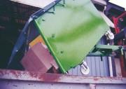 Conteneur spécial déchets - Respecte les normes de la santé et sécurité des travailleurs