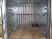 Conteneur stockage à barre d'arrimage - Conteneur intérieur avec barre d'arrimage