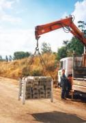 Conteneur stockage de plots - Capacité de stockage : 20 plots