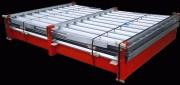 Conteneur stockage modulable - Dimensions (L x l) : 2.25 x 2.20 ou 3 x 2.20 m