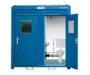 Conteneur WC duo sanitaire - Conteneur WC duo avec système d´écoulement