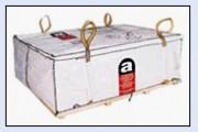 Conteneurs à dechet pour amiante - Sangles de levages disponibles en plusieurs dimensions.