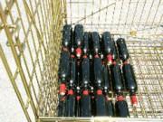 Conteneurs en fil pour bouteilles - Conteneur Bordeaux