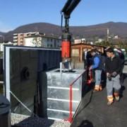 Conteneurs enterrés métalliques à assistance hydraulique - SWING-MATIC