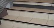 Contre marche aluminium - Installation intérieur et extérieur