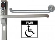 Contrôle d'accès porte adapté PMR - Adaptable à toutes portes ou serrures