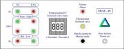Contrôleur régulateur électronique de niveau liquide - Coffret pour contrôler et réguler automatiquement le niveau du liquide