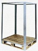 Convertisseur caisse palette plastique - Charge admissible : 1500 kg