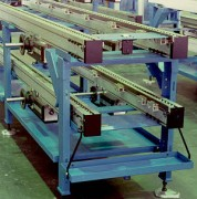 Convoyeur à bande d'accumulation - Capacité de transport par section de bande (kg) max : 1000