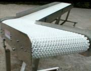 Convoyeur à bande en inox - Largeur (mm) : 82,5/114
