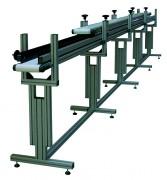 Convoyeur à bande pour formage de cartons - Fabrication sur mesure - Montage rapide et facile