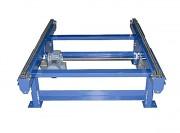 Convoyeur à chaîne charge lourde - Bi-chaîne ou tri-chaîne - Capacité: 1500 Kg/palette