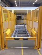 Convoyeur à chaîne de manutention - Bi ou Tri chaînes - Transfert de conteneur, palettes, ...