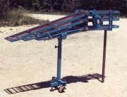 Convoyeur à corde 3 niveaux - Permet d'alimenter 3 étages de sorties