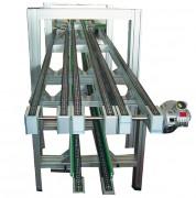 Convoyeur à rouleaux aluminium - Pour les charges lourdes