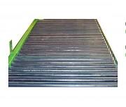 Convoyeur à rouleaux de manutention - Pour charges lourdes - rouleaux PVC ou métalliques