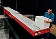Convoyeur à rouleaux télescopique standard - 3 modèles standards - Longueur déployée : de 8890 à 14900 mm