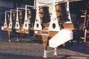 Convoyeur à tapis charnières type M3TR - Convoyeur de refroidissement