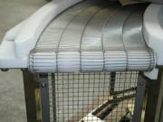 Convoyeur à tapis métallique ajouré - Tapis ajourés et inaltérables